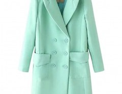 Double Breasted Lapel Coat Chicnova bester Fashion-Online-Shop aus China