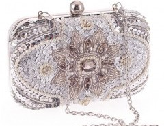 Box Clutch with Bead Embellishment Chicnova bester Fashion-Online-Shop aus China