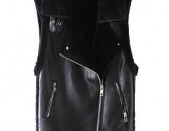 Lapel Zipper Vest Chicnova bester Fashion-Online-Shop aus China