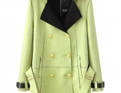 Double-breasted Lapel Coat Chicnova bester Fashion-Online-Shop aus China