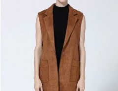 Suede Fringed Vest Chicnova bester Fashion-Online-Shop aus China