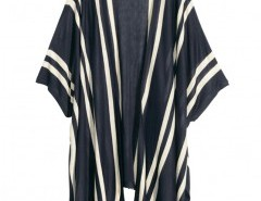 Knitted Kimono in Color Block Stripe Chicnova bester Fashion-Online-Shop aus China