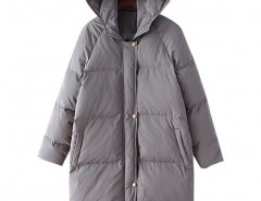 Longline Padded Coat with Hood Chicnova bester Fashion-Online-Shop aus China