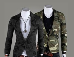 2016 Trends Men Camouflage Army Wind One Button Suit Casual Outwear Coat Cndirect bester Fashion-Online-Shop aus China