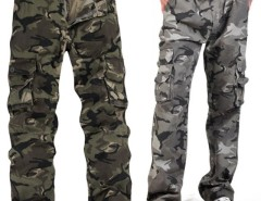 Men's Multi Pocket Mountaineers Hiking Camouflage Pants Casual Overalls Trousers Cndirect bester Fashion-Online-Shop aus China