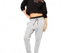 Gauze Insert Hooded Sweatshirt Chicnova bester Fashion-Online-Shop aus China