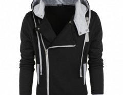 COOFANDY Men Fashion Casual Zipper Hooded Slim Hoodie Coat Cndirect bester Fashion-Online-Shop aus China