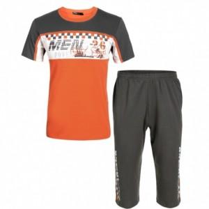 Avidlove Men's Casual O-Neck Short Sleeve T-Shirt Tops + Elastic Waist Shorts Sleepwear Cndirect bester Fashion-Online-Shop aus China