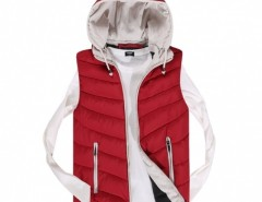 Coofandy Fashion Men's Sleeveless Hooded Outwear Jacket Vest Cndirect bester Fashion-Online-Shop aus China