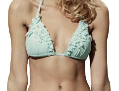Almond Green Draped Bikini 4990 Carnet de Mode bester Fashion-Online-Shop