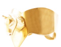 BRACELET - HORSE - GOLDEN Carnet de Mode bester Fashion-Online-Shop