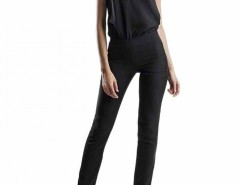 Backless Black Overall Carnet de Mode bester Fashion-Online-Shop