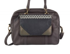 Bag - London / Casablanca - Taupe Carnet de Mode bester Fashion-Online-Shop