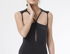 Black Backless Cut Out Ana Swimsuit Carnet de Mode bester Fashion-Online-Shop