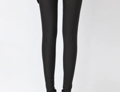 Black High Waist Stretchy Leggings Choies.com bester Fashion-Online-Shop Großbritannien Europa