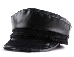 Black Lace Detail Short Brim Hat Choies.com bester Fashion-Online-Shop Großbritannien Europa