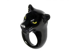 Black Panther ring Carnet de Mode bester Fashion-Online-Shop