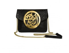 Black Python Le Icon Clutch Carnet de Mode bester Fashion-Online-Shop