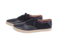 Black Sneakers in Leather and Suede - Robert Carnet de Mode bester Fashion-Online-Shop