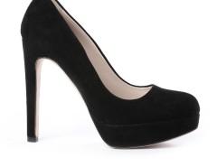 Black Suede Pumps - Jin Carnet de Mode bester Fashion-Online-Shop
