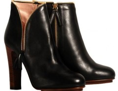 Black leather zip ankle boots De Siena - Greta Carnet de Mode bester Fashion-Online-Shop
