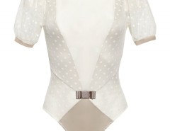 Bodysuit - CARLA - Ivory Carnet de Mode bester Fashion-Online-Shop