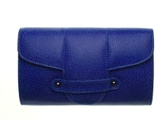 Bond Street Imitation Shagreen Leather Clutch Carnet de Mode bester Fashion-Online-Shop