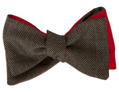 Bow tie - Caviar - Gray Carnet de Mode bester Fashion-Online-Shop