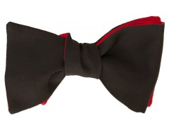 Bow tie - Twill - Black Carnet de Mode bester Fashion-Online-Shop