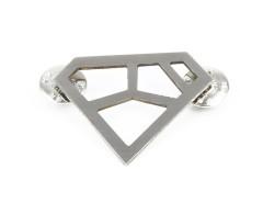 Brooch - METRIQ 4 - Stainless Steel Carnet de Mode bester Fashion-Online-Shop