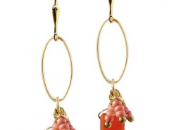 Coral Anemone 2 Earrings Carnet de Mode bester Fashion-Online-Shop