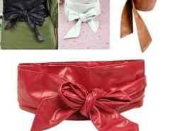 ElR8 Women Lady's Leather Wrap Around Tie Corset Cinch Waist Wide Belt Fashion Cndirect bester Fashion-Online-Shop China