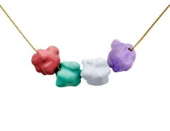 Enamel Multicoloured Pendant - The Fancy Popcorn Carnet de Mode bester Fashion-Online-Shop