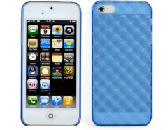 Fashion Transparent Soft silica gel Case Cover for Apple iPhone 5 5s Blue Cndirect bester Fashion-Online-Shop China