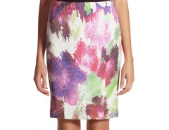 Flower Printed Skirt Jessica Carnet de Mode bester Fashion-Online-Shop