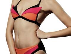 Fuchsia and Orange Bikini 4794 Carnet de Mode bester Fashion-Online-Shop