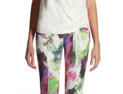 Garden Printed Trousers Christina Carnet de Mode bester Fashion-Online-Shop