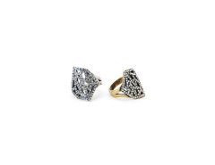 Geo Diamond Cocktail Ring MrKate.com bester Fashion-Online-Shop aus den USA