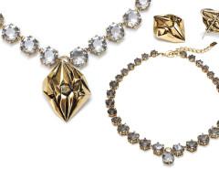Geo Diamond 3-in-1 Necklace MrKate.com bester Fashion-Online-Shop aus den USA