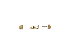 Geo Diamond Stud Earrings MrKate.com bester Fashion-Online-Shop aus den USA