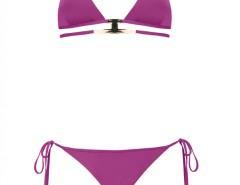 Gold Accessorized Purple Bikini - Verina Carnet de Mode bester Fashion-Online-Shop