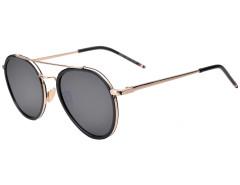 Gray Tinted Lens Aviator Sunglasses Choies.com bester Fashion-Online-Shop Großbritannien Europa