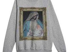 Grey sweatshirt - Immaculate Conception Carnet de Mode bester Fashion-Online-Shop