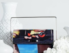 Handheld Clutch - Multi - 70's Carnet de Mode bester Fashion-Online-Shop