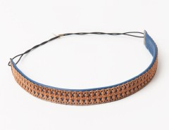 Headband - Apollonide - copper & blue Carnet de Mode bester Fashion-Online-Shop