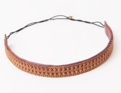 Headband - Apollonide - copper & burgundy Carnet de Mode bester Fashion-Online-Shop