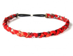 Headband - LINNA - red Carnet de Mode bester Fashion-Online-Shop