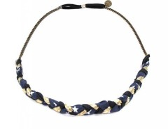 Headband - iris - navy blue & golden Carnet de Mode bester Fashion-Online-Shop