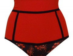 High waist panties - Fleur de Cerisier - Red Carnet de Mode bester Fashion-Online-Shop