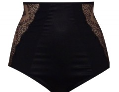 High waist panties - TAILLE DE GUÊPE - Black Carnet de Mode bester Fashion-Online-Shop